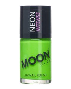Moon Glow Neon Nail Polish in Intense Green
