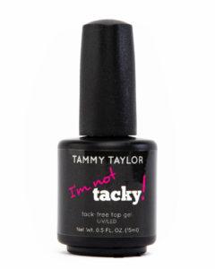 tammy taylor im not tacky gel top coat