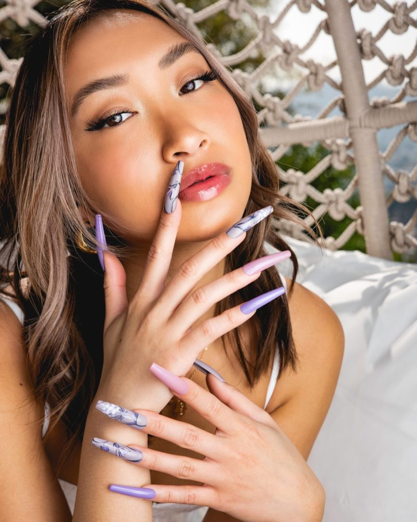 Get Marble Nail Art Designs Applied onto Your Nails at Tammy Taylor Nails